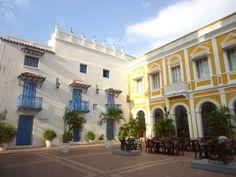 Plaza de San Pedro - Cartagena de Indias