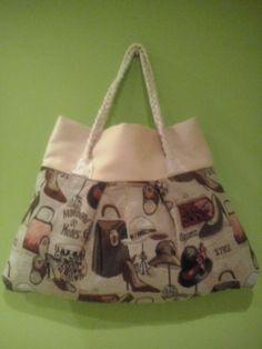 bolso hecho con cojines 50€