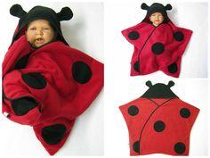 Wrap étoile bébé sommeil star sac swaddle puck tissu emballage couverture polaire coccinelle halloween Carnaval