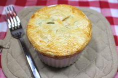 Savoring Our Twenties: Mini Kale & Chicken Pot Pies