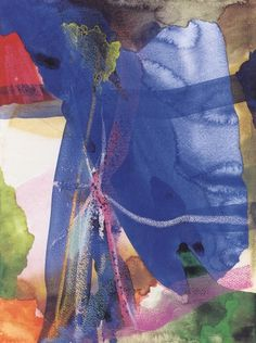 Gerhard Richter » Art » Watercolours » Rocky Landscape (15.2.1984)
