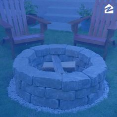 Turn up the heat in your backyard with this do-it-yourself fire pit. diy projects videos DIY Backyard Fire Pit: Build It in Just 7 Easy Steps Diy Fire Pit, Fire Pit Backyard, Backyard Patio, Backyard Landscaping, Succulent Landscaping, Backyard Seating, Succulent Gardening, Backyard Playground, Cheap Fire Pit