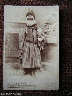 Little Girl Doll Boston MA CC Original   eBay