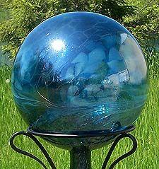 Gazing Ball Sea Green-$50