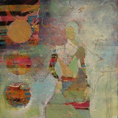 sina-santi2:    Judy Thorley . mixed media