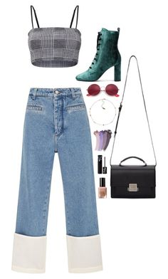 """""""Halsey-Inspired #476"""" by halseys-clothes ❤ liked on Polyvore featuring Loewe, Yves Saint Laurent, Ray-Ban, Gucci, Bobbi Brown Cosmetics and NARS Cosmetics"""