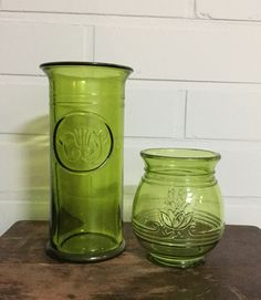 Mid Century Modern Art, Mid-century Modern, Scandinavian, Glass Art, Mason Jars, Lily, Ceramics, Retro, Vases