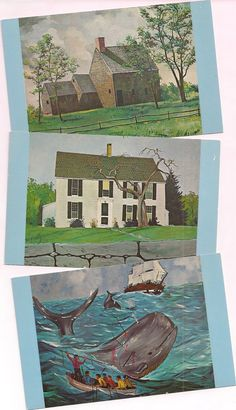 Cape Cod history postcards