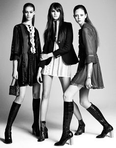 Editorial vogue japan april 2015 Louis Vuitton Hrisskas Style
