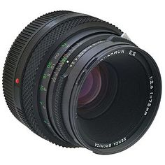 Bronica ETRS 75mm f2.8 EII Fixed Focal Length Lens