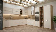 Kuchynské linky | Dalno Divider, Kitchen Cabinets, Room, Furniture, Home Decor, Design, Cooking, Living Room, Bedroom
