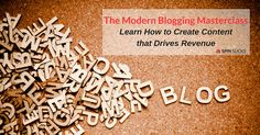 Spin Sucks introduces its first online course, The Modern Blogging Masterclass. It's a four-week course that teaches you how to craft content for 2016.