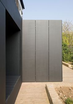 Opie house 3a old lansdowne rd pinterest celos as for Revestimiento exterior zinc