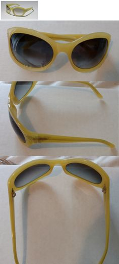 faf059dc554e Eyewear Accessories 179249  Emporio Armani Ea 9241 S 55C Yellow W Crystals  On Temples Women S Sunglasses -  BUY IT NOW ONLY   38.98 on eBay!
