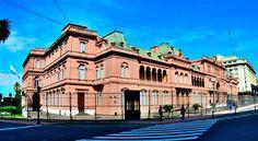 ¿Por qué la Casa Rosada es rosada?  CLICK→ http://arquitecturandoenbuenosaires.blogspot.com.ar/2013/06/por-que-la-casa-rosada-es-rosada.html