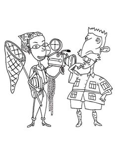 29 Thornberrys Coloring Pages Ideas Coloring Pages The Thornberrys Online Coloring