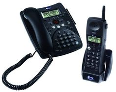 Best price on AT&T 1480 2.4 GHz Corded/Cordless Telephone with Caller ID and Answering System (Espresso)  See details here: http://topofficeshop.com/product/att-1480-2-4-ghz-cordedcordless-telephone-with-caller-id-and-answering-system-espresso/  Combining a 2.4 GHz cordless phone with a corded model, the 1480 combo pack is stylish, easy to use, and affordable. The cordless handset utilizes the 2.4 GHz analog frequency, which offers more clarity and greater range than 900 MHz phones. It's a…