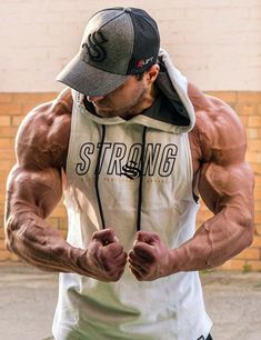 Tuesday training motivation brought to you by 💪🏽💯 Shop the arm day essential Strong Boulder Hoodie via the LINK IN OUR BIO 👆🏽 strongliftwear Training Motivation, Fitness Motivation, Gym Singlets, Gym Photos, Sleeveless Hoodie, Athleisure Outfits, Workout Accessories, Bodybuilding Motivation, Gym Wear