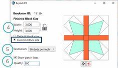 BlockBase+ Sew Along: Block 5 | The Electric Quilt Blog Electric Quilt, Cricut Software, New Names, Cricut Design, Document Folder, Patches, Dots, Quilts, Sewing