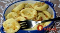 Lazy dumplings with potatoes - it's so tasty and fast!- Lazy dumplings with potatoes – it's so tasty and fast! Slovak Recipes, Russian Recipes, Vegetarian Recipes, Cooking Recipes, Healthy Recipes, Bolet, Good Food, Yummy Food, Salty Foods