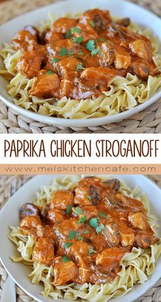This Paprika Chicken Stroganoff is hearty, simple, quick and downright delicious.