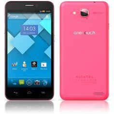 L'Alcatel One Touch Idol S rose est disponible dans la boutique Sosh !