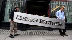 Lehman Brothers, typeface unknown