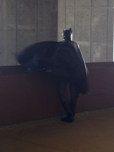 Batman is real. Spotted in Irving, TX. Funny pics.