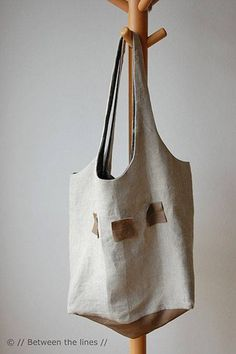 Sac Patron Gratuit - Shopping Bag par Between The Lines