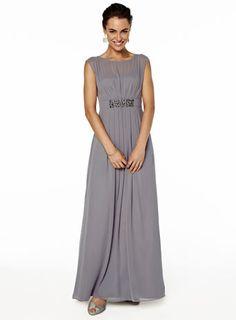 Amelia Grape Long Dress - grape - shop by colour - Wedding - BHS