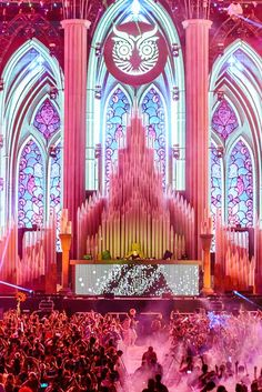 the main stage was a cathedral... because music is our religion. #EDC