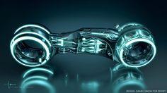TRON: Legacy – Vehicle design with Daniel Simon Futuristic Technology, Futuristic Cars, Futuristic Design, Technology Gadgets, Tron Legacy, Mercedes Amg, Tron Light Cycle, Tron Bike, Tron Uprising