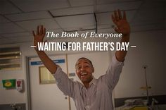 """""""Waiting for Father's Day"""" (photographing men waiting around delivery rooms for their children to be born)"""