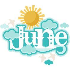 Silhouette Design Store - View Design #117060: june header