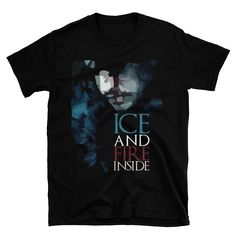 I just posted my new t-shirt design *_* Could you give me a opinion about my design? New T Shirt Design, My Design, Shirt Designs, Winter T Shirts, Summer Tshirts, Inside Games, Jon Snow, Give It To Me, Unisex