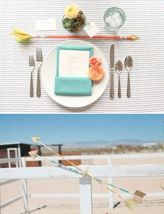 Table Setting  Head Over Heels For: Arrows