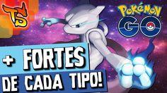 Pokémon GO - Saiba os mais fortes de cada tipo!