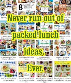 They will always have to eat! If you need more ideas, this is a great place to start.
