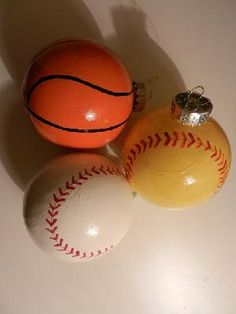 Sports Christmas Bulbs- Set of 8