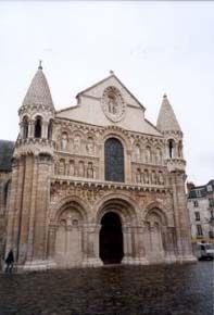 église Notre Dame la Grande de Poitiers