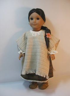 18241043 Josefina Serape American Girl 18 Inch Doll by terristouch, $12.00