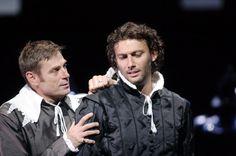 Jonas Kaufmann and Simon Keenlyside in Don Carlos