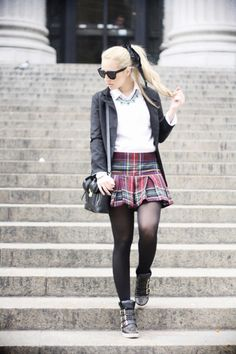Glamgerous - Fashion Blog: Easy Tartan