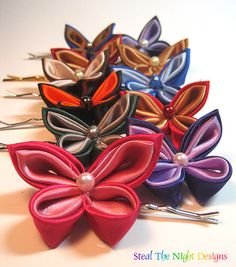 Simple Butterfly Kanzashi