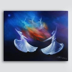Salam Arts - In your light  (Rumi) by Shafique Farooqi, AED517.81 (http://www.salamarts.com/islamic-canvas-art/rumi-your-light/)