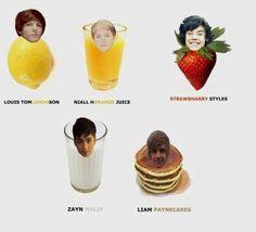 hahahahaha healthy breakfast