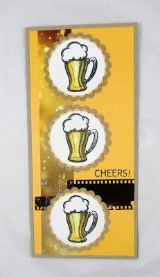 Cheers by @stampwithkr for @therubbercafe using #card #creativecafeKOTM @bobunny