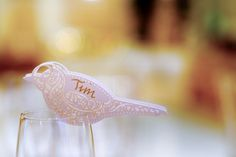 Filigree bird name cards Urban Chic, Name Cards, Simple Elegance, Special Day, Filigree, Backdrops, Calligraphy, Bird, Wedding