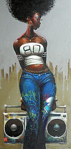 Artist Frank Morrison-- Love it