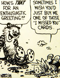 January 01, 1992 - Calvin and Hobbes